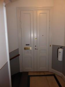 Evys dörr